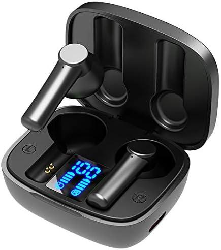 Wireless Earbuds 120H Standby time, Earphone Waterproof Bluetooth 5.0 Headphones Digital Display TWS Stereo Sound Wireless Headphones Noise Canceling Headset