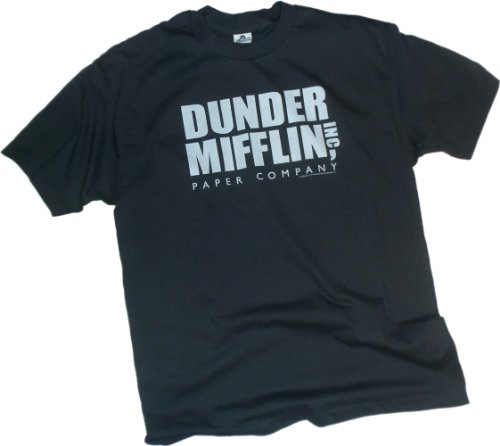 Price comparison product image Dunder Mifflin Inc. Logo -- NBC's The Office Youth T-Shirt, Youth Large