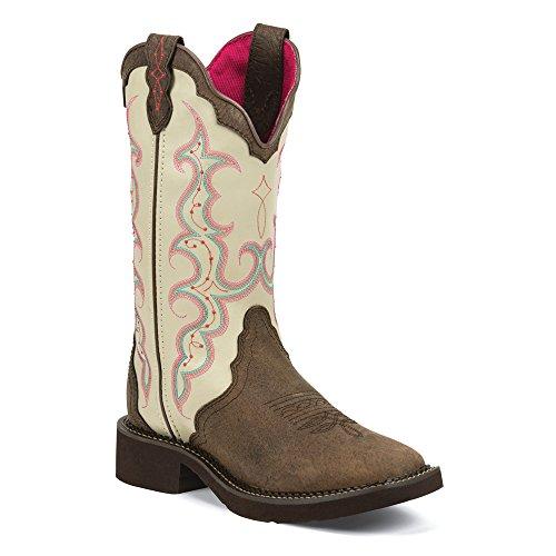Bone Justin Bootsl2919 Brown Western Stivali Donna AA60qPTw
