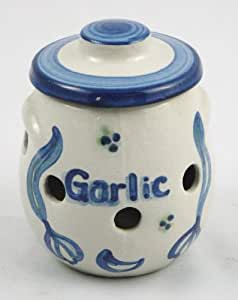 Garlic Jar, Garlic Pattern