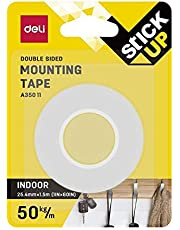 DELI A35011 FOAM MOUNTING TAPE 25.4mm X 5m