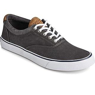 Sperry Men's Striper II CVO Core sneaker, SW Black, 13 M