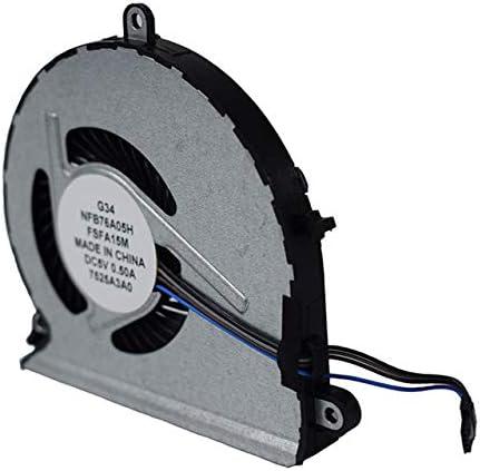 Coolerr fan para HP Pavilion15-AU 15-AU000 15-AU100 Series 4