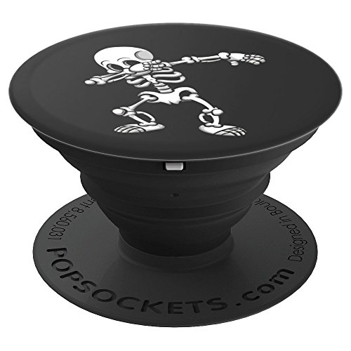 Dabbing Skeleton Cool Scary Halloween Gift - PopSockets Grip and Stand for Phones and Tablets -