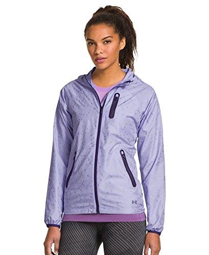 Under Armour Qualifier Woven Jacket - Women's Lavender Ice / Twilight Purple / Ref Medium (Range Qualifier compare prices)