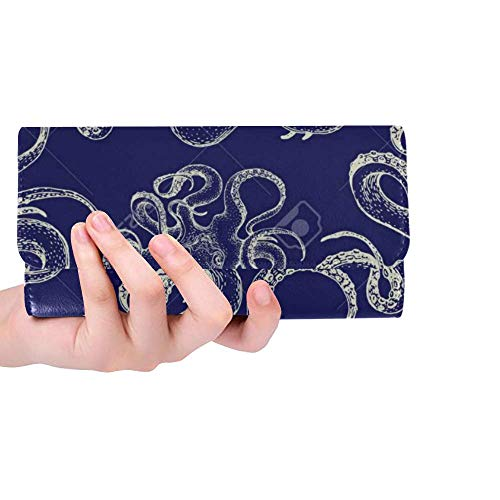 Octopus Trifold Wallet Long...