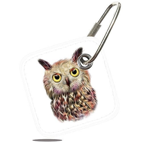 Owl Tile (Logity Case for Tile Mate - Key Finder, Phone Finder, Anything Finder, Tile Mate Accessories, Lether Case Cover for Tile Mate with Anti-lost Design, Owl)