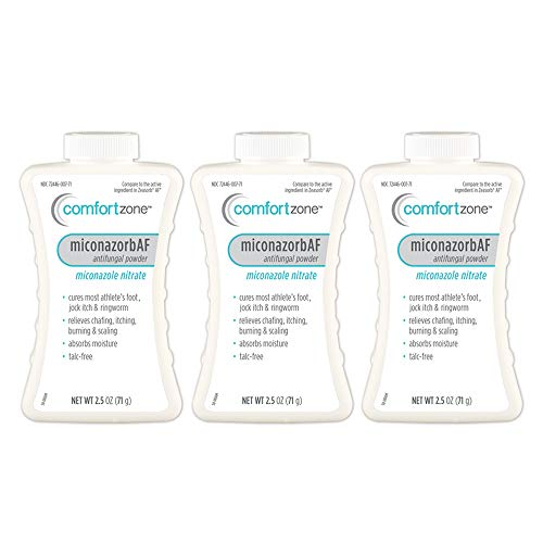 (Comfort Zone Miconazorb Antifungal Powder Talc-Free (Pack of 3) )