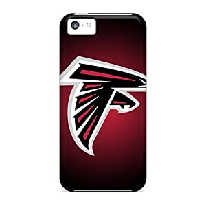 Anti-Scratch Hard Phone Cover For Iphone 5c (pck5108XQbl) Custom Colorful Atlanta Falcons Series
