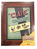 (US) Parker Brothers Vintage Game Collection Exclusive Wooden Book Box Clue