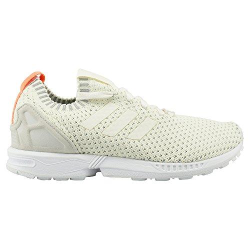 new products e26bc 53e81 Galleon - Adidas Originals Women s ZX Flux PK W Running Shoe, Chalk White Chalk  White Granite, 11 M US