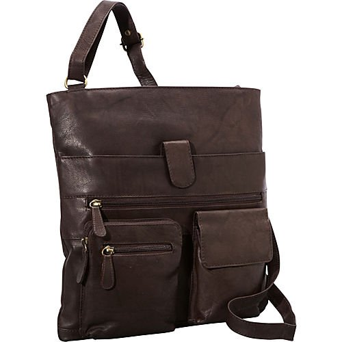 r-r-collections-4-pocket-leather-crossbody-brown