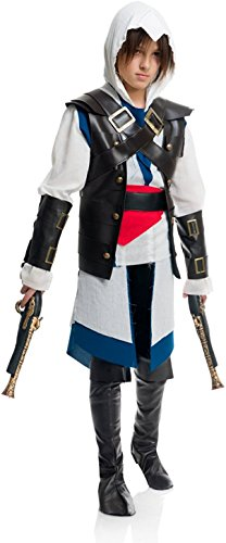 Charades Child's Cutthroat Pirate Boy Costume, NA, -