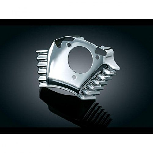 08-13 HARLEY FLHTCU: Kuryakyn Throttle Servo Motor Cover (For Screamin' Eagle Or Heavy Breather Kit) (Chrome)