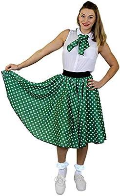 ILOVEFANCYDRESS - Disfraz de rock n roll, falda de los 50 de ...