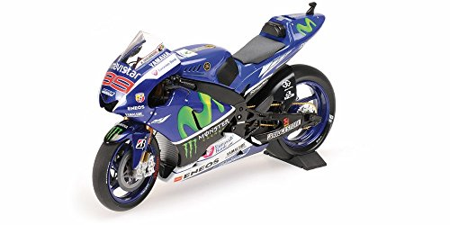 Minichamps Yamaha Yzr M1 (Yamaha Yzr-M1 Movistar Yamaha Motogp Jorge Lorenzo Motogp 2015 Diecast Motorcycle in 1:12 Scale by Minichamps)