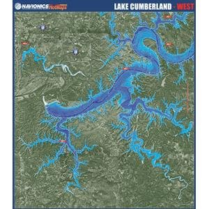 Navionics Paper Map: Lake Cumberland - West (Navionics Paper Map)