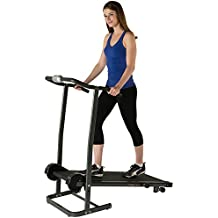 Fitness Reality TR1000 Manual Treadmill with 2 Level Incline & Twin Flywheels