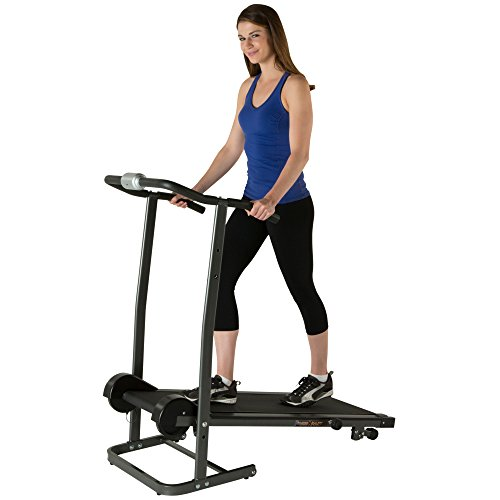Fitness Reality TR1000 Manual Treadmill with 2 Level Incline & Twin Flywheels by Fitness Reality