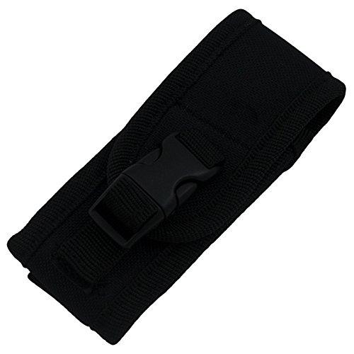 Black Nylon Folding Pocket Knife Carrying Case