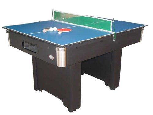 Playcraft Hartford Slate Black Bumper Pool Table - ()