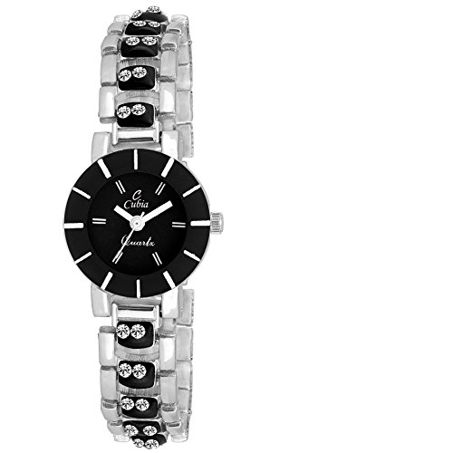 Cubia Cb1209 Special Collection Analog Black Dial Watch For Girls