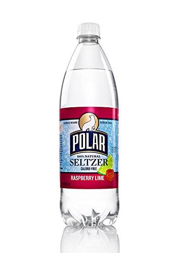 Polar Beverages Seltzer Raspberry Lime, 33.8 Fluid Ounce (Pack of 12)