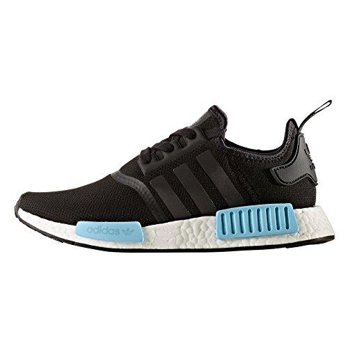 Adidas Nmd R1 Boost Sneaker Zwart / Icey Blauw