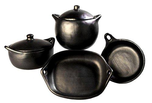La Chamba Black Clay Gift Set 2