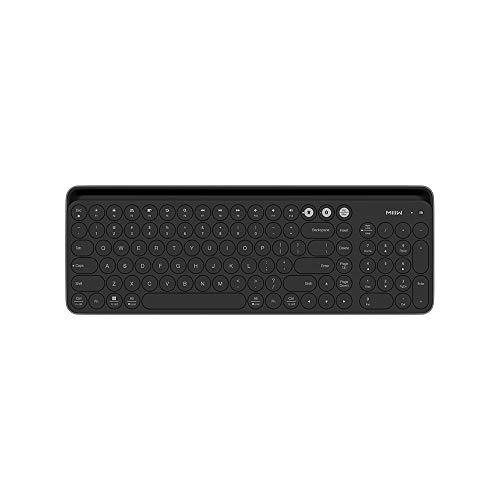 Xiaomi Multi Device Wireless Keyboard, Miiiw Bluetooth Dual-Mode Ultra Slim Full Size Keyboards with Numeric Keypad for Computers, Laptop, PC and Smartphones, Easy Setup, Long Battery Life