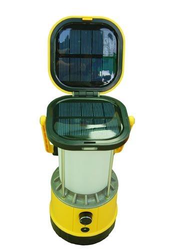 Solar Powered Camping Lantern. Best brightness. 10″ of Height., Outdoor Stuffs
