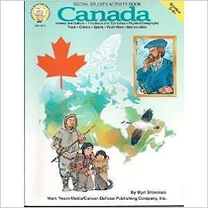 Book Canada: Social Studies Activity Book : 5-8+ by Shireman Myrl (1998-07-01)
