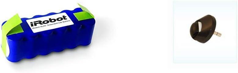iRobot Xlife - Batería Original para el Robot Aspirador iRobot Roomba + Rueda Roomba para Series 500, 600, 700, 800 y 900: Amazon.es: Hogar