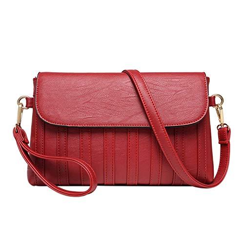 ZZEEN Shirt Women Handbag PU Leather Plaid Messenger Bag Autumn Women Crossbody Shoulder Bags Female Handbag