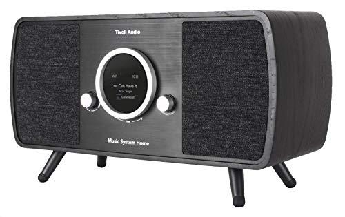Tivoli Audio Music System Home Gen. 2 DAB+/UKW-Radio Bluetooth WiFi black/sch.