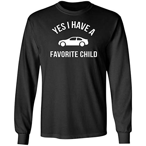 Teechopchop I Have A Favorite Child,Car Lovers,Dad,Racing,Gifts Long Sleeve T-Shirt