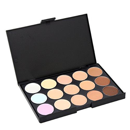 Price comparison product image 15 Colors Contour Face Cream Makeup Concealer Palette Powder