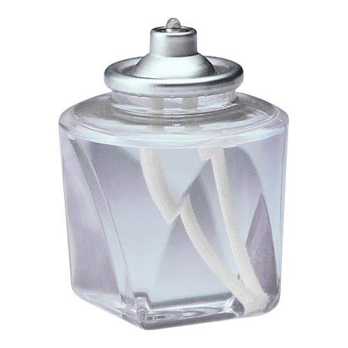 Hollowick HD18 18-Hour Disposable Clear Plastic Fuel Cell (48 Each per Case) ()