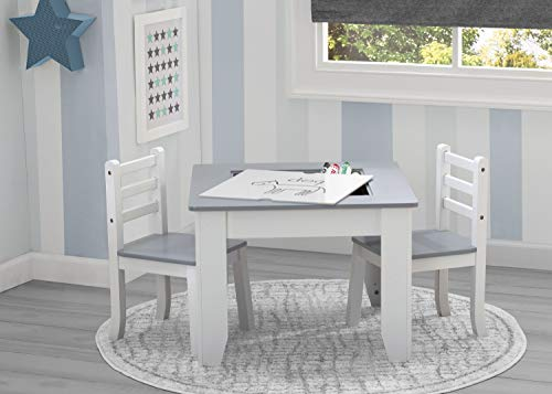Delta Children Chelsea 3-Piece Table and Chairs Set with ()