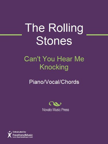 Cant You Hear Me Knocking Sheet Music Pianovocalchords Kindle