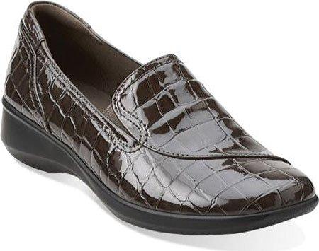 Clarks, Gael Feline Beleg auf Schuh Grey