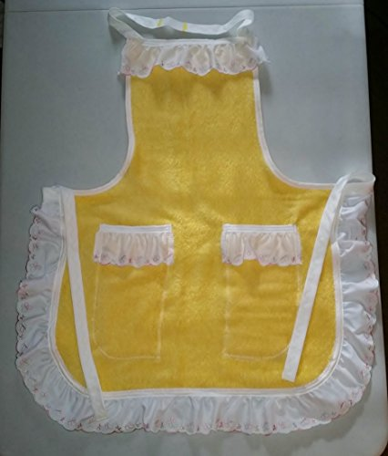 Yellow Up-cycled Full Apron