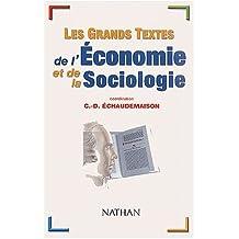 Grands textes economie et.. -ne
