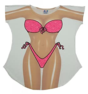 L.A. Imprints Bikini Body Cover-Up T-Shirt #9