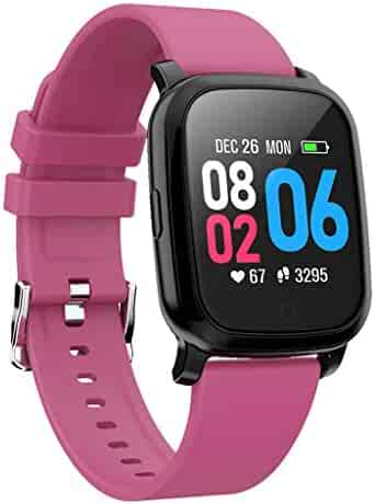 Tonsee CV06 Heart Rate Blood Pressure Sleep Monitoring SmartWatch Pedometer Tracker,Colorful Look Charging Long-Last Multifuntional Smart Watch