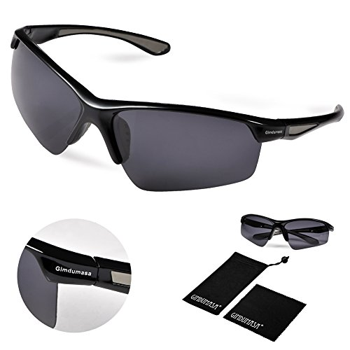 Amazon Lightning Deal 87% claimed: Gimdumasa Tr58 Polarized Sports Sunglasses for Baseball Cycling ¡­