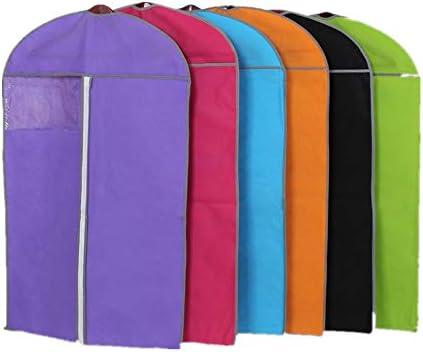 洋服用ダストバッグ 24「X39」は荷物の衣類に適用される衣服旅行バッグをぶら下げ通気性衣料品店 クローゼット服ダストバッグ (色 : マルチカラー)