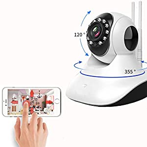 ACFUN Safety Wireless Camera HD 720P Security Network Surveillance Camera Baby Monitor IP Camera