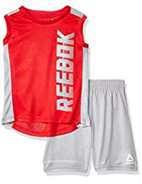 Reebok Boys Athletic Tank Top and Short Set Shorts Set
