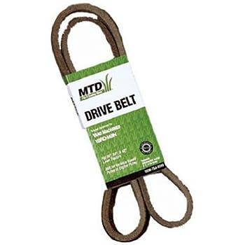 Amazon Com Mtd Genuine Parts 38 Inch Deck Belt For